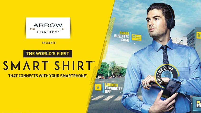 پیراهن هوشمند جهان Arrow، اولین پیراهن هوشمند - لباس هوشمند, تکنولوژی نساجی, تکنولوژی تولید, پیراهن, پارچه هوشمند